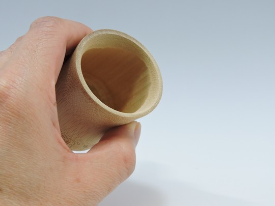竹のグラス